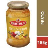 Bertolli Pesto calabrese pasta sauce