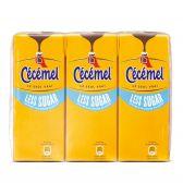 Cecemel Chocolademelk less sugar tetra 6-pack