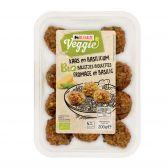 Delhaize Biologische groente balletjes kaas-basilicum vegetarisch (alleen beschikbaar binnen Europa)