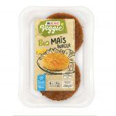 Delhaize Biologische maisburger vegetarisch (alleen beschikbaar binnen Europa)