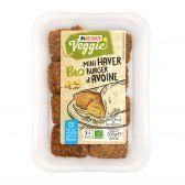 Delhaize Biologische haverburger vegetarisch (alleen beschikbaar binnen Europa)