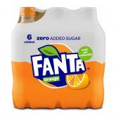 Fanta Limonade zero orange klein 6-pack