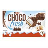 Ferrero Kinder koekjes choco fresh chocolade-melk-hazelnoot
