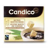 Candico Raw cane sugar cubes fair trade