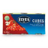 Elvea Peeled tomato cubes