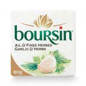 Boursin Verse kaas met knoflook en fijne kruiden klein