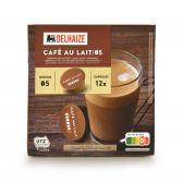 Delhaize Koffie capsules cafe au lait