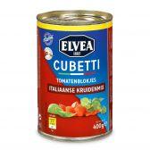 Elvea Cubetti tomaten blokjes Italiaanse kruiden