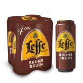 Leffe Abbey brown beer