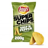 Lays Salt 'n pepper ribbled superchips