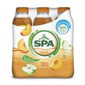 Spa Duo perzik-appel 6-pack
