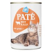 Albert Heijn Calf pate for cats (only available within Europe)