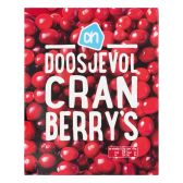 Albert Heijn Doosje cranberry's (alleen beschikbaar binnen Europa)