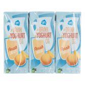 Albert Heijn Drinkyoghurt perzik 6-pack