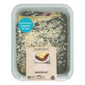 Albert Heijn Spinazie lasagne (voor uw eigen risico)