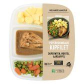 Albert Heijn Kipfilet pepersaus met wortel en doperwt (alleen beschikbaar binnen Europa)