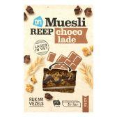 Albert Heijn Mueslireep light chocolade
