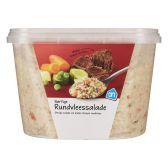 Albert Heijn Rundvleessalade groot (voor uw eigen risico)