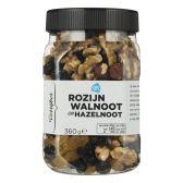 Albert Heijn Raisins, walnuts and hazelnuts