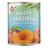 Albert Heijn Basic half peaches on syrup
