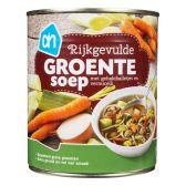 Albert Heijn Rijkgevulde groentesoep groot