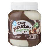 Albert Heijn Chocolate spread with hazelnut and white chocolate