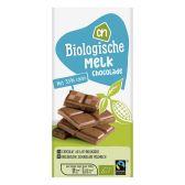 Albert Heijn Organic milk chocolate tablet