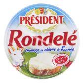 President Rondele fromage de chevre (voor uw eigen risico)