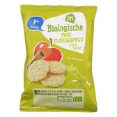 Albert Heijn Organic rice wafers apple and cinnamon (from 7 months)