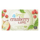 Albert Heijn Groene thee cranberry & appel