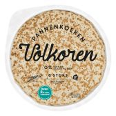 Albert Heijn Volkoren pannenkoeken groot (voor uw eigen risico)