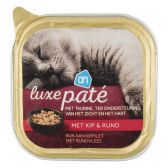 Albert Heijn Alu luxury chicken and beef pate for cats (only available within Europe)
