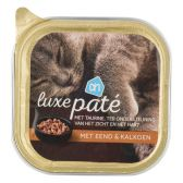 Albert Heijn Alu luxury duck and turkey pate for cats (only available within Europe)
