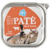 Albert Heijn Alu beef pate for cats (only available within Europe)