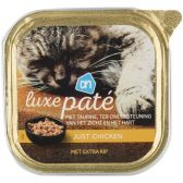 Albert Heijn Alu luxury chicken pate for cats (only available within Europe)