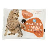 Albert Heijn Meal bag meat sauce for cats (only available within Europe)