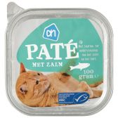 Albert Heijn Alu salmon pate for cats (only available within Europe)