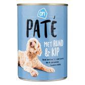 Albert Heijn Pate rund-kip voor de hond groot (alleen beschikbaar binnen Europa)