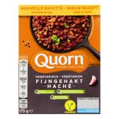 Quorn Gluten free vegetarian fine chopped meat (at your own risk, no refunds applicable)