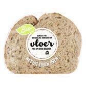 Albert Heijn Biologisch vloerbrood meerzaden half (voor uw eigen risico)