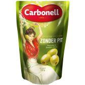 Carbonell Groene olijven zonder pit klein