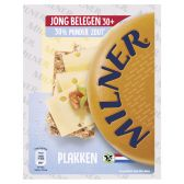 Milner Young matured 30+ cheese less salt slices