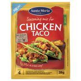 Santa Maria Taco chicken seasoning mix