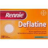 Geneesmiddelen Rennie Deflatine kauwtabletten suikervrij