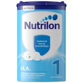 Nutrilon Zuigelingenvoeding hypo allergeen 1 (vanaf 0 tot 6 maanden)