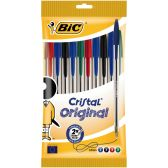 Bic Cristal original ballpoints 10-pack