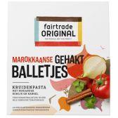 Fair Trade Original Moroccan meatball paste