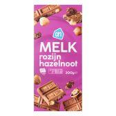 Albert Heijn Tablet melk-noot-rozijn