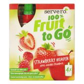 Servero 100% Fruit to go aardbeien hemel