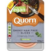 Quorn Vegan smokey ham slices (at your own risk, no refunds applicable)